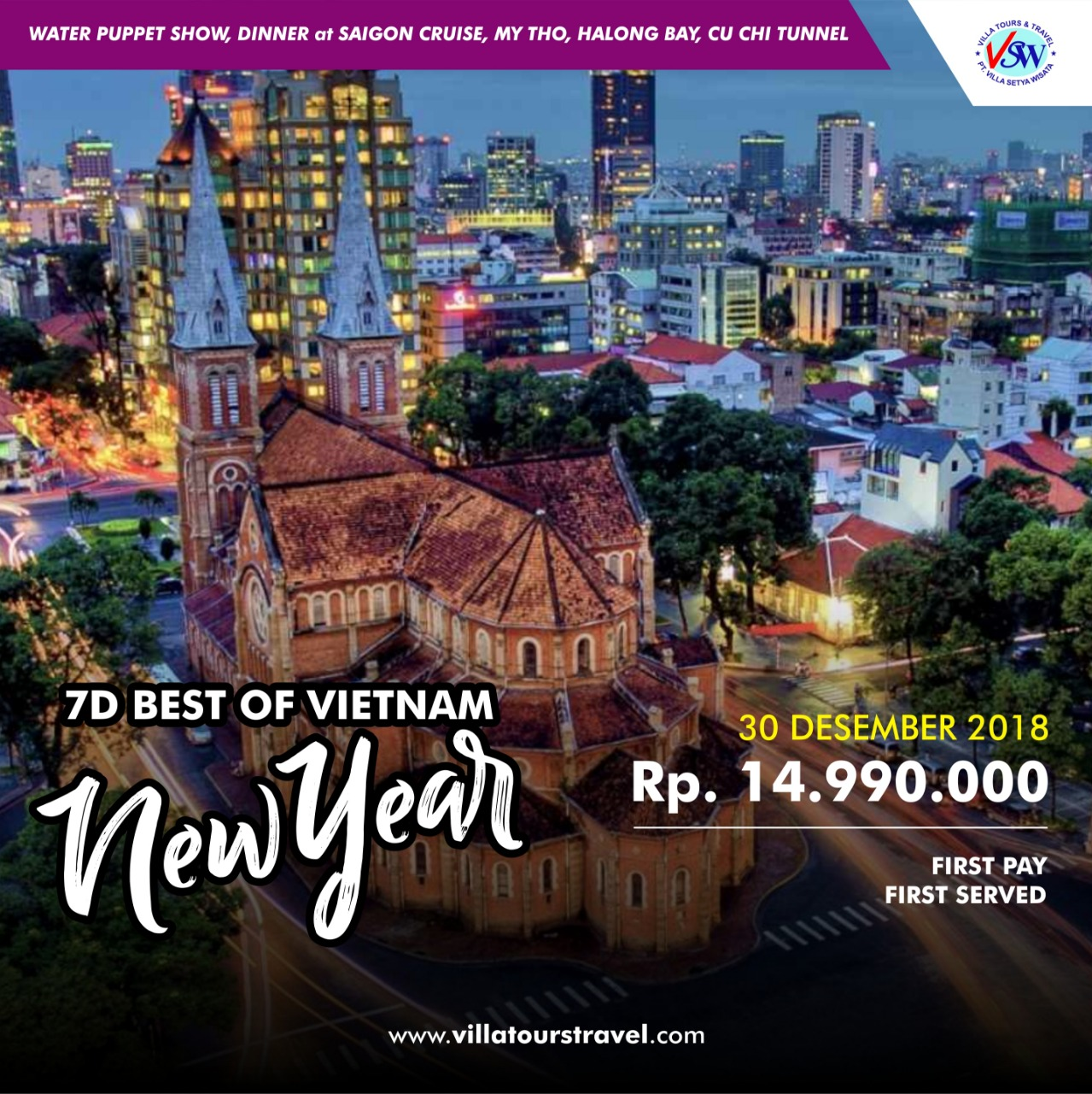 7D BEST OF VIETNAM NEW YEAR EDITION BY ROYAL BRUNEI