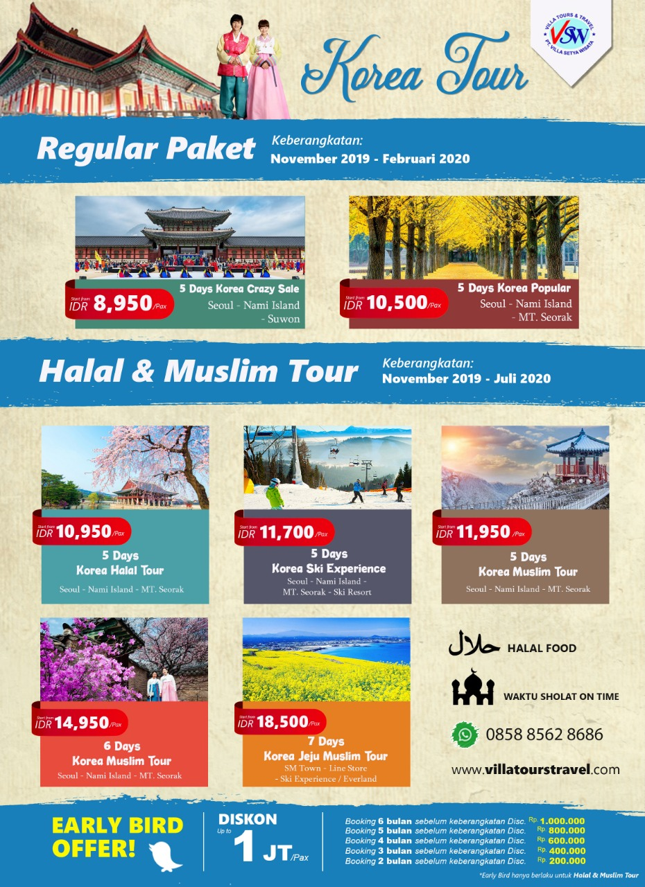 6D KOREA-MUSLIM TOUR