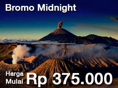 BROMO MIDNIGT SUNRISE TOUR