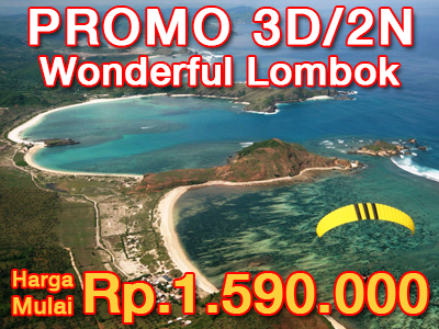 3 HARI 2 MALAM WONDERFUL LOMBOK